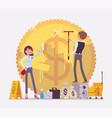money laundering crime vector image