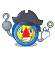 pirate yoyo character cartoon style vector image vector image