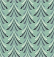 Seamless Christmas pattern Stylized blue ornament vector image vector image