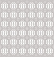 seamless geometric ornament pattern lattice grid vector image vector image