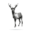 deer abstract isolated