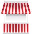 Detailed of a stall stand vector image