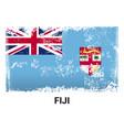 fiji flag design vector image