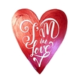 Happy Valentines Day Lettering Pink Foil Heart vector image vector image