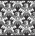 seamless aztec pattern vector image vector image