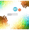 abstract background Colorful Dots like a vector image vector image
