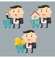 Business Trading vector image vector image