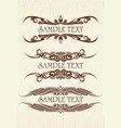 elegant text frames a lot of similar images in my vector image vector image