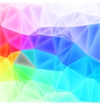 low poly art background vector image