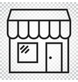 store icon shop build business concept simple vector image vector image