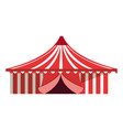 circus big tent carnival festival vector image vector image