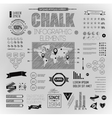 elements of info graphics vector image