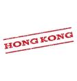 Hong Kong Watermark Stamp vector image