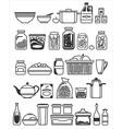 kitchen stuff7 2 vector image vector image