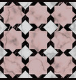 marble luxury star seamless pattern vector image vector image