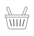 online shopping basket ecommerce market icon vector image vector image