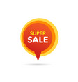 sale discount banner discount offer price tag vector image vector image