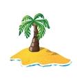 Small island vector image vector image