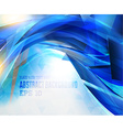 Abstract Hi Tech Blue Background vector image vector image