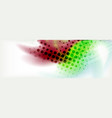 background abstract holographic fluid colors wave vector image vector image