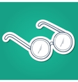 Doctors glasses vector image vector image