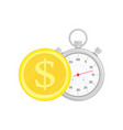 fast money vector image vector image
