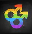 male gender symbol vector image vector image