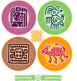 set mexican design elements vector image vector image