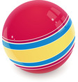 ball child toy vector image vector image
