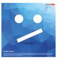 emoji icon vector image