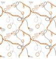 glamorous fashion pattern vector image