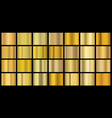 golden gradients shiny metal texture for banner vector image vector image