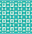 green seamless pattern with floral elements image vector image vector image
