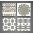 Mandala in ethnic style vector image vector image