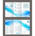 Corporate business stationery templat vector image