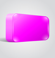 Blank shiny lilac web button vector image vector image