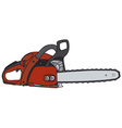 Chainsaw vector image vector image