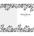 design blank for greeting cards or invitations vector image vector image