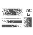 dissolved filled square vector image vector image