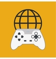 game design technology icon isolated vector image vector image