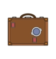 Isolated bag of baggage concept vector image