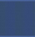 knit texture blue color seamless pattern fabric vector image vector image
