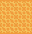 seamless stylish pattern - orange vector image vector image