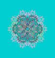 snowflake icon flat design snowflake icon vector image vector image