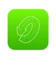 update icon green vector image