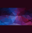 abstract irregular polygonal background vector image vector image