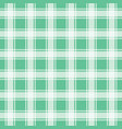 green gingham pattern seamless background vector image vector image