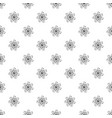 herb flower pattern seamless vector image