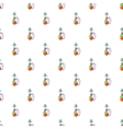 Hookah pattern cartoon style vector image vector image