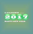 loading new year 2017 vector image